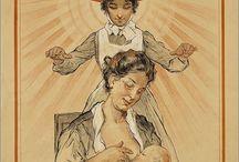 Borstvoeding Geschiedenis en Beeldvorming
