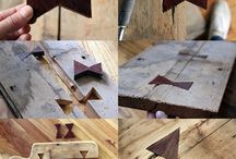 Wood. DIY trick