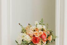 Inspiration: Peach, Pink + Foliage