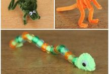 Pipe animals Craft