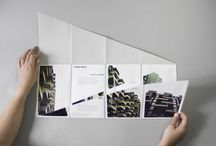 Folded books / posters