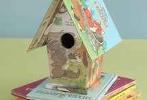 Birdhouses, feeders & cages / by Peggy M. Davis