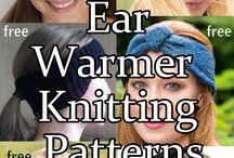 knitted headband  n earwarmers