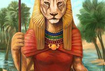 Egyiptomi istennő