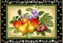 individuales con frutas