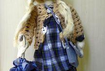 Кукла Марта / Вальфдорская текстильная кукла