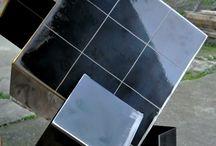 Les cubes / les cubes en acier