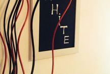 Home decor / black and white