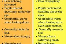 Συγκρίσεις ομοιοπαθητικων