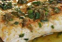 pescados y comida de mar