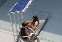 Solar furniture