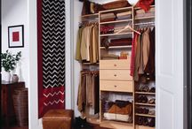 Closets and Organization / Remove clutter and organize your home, office and life