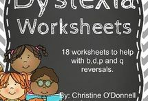 dyslexia work sheets
