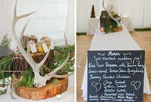 WEDDING STYLING // Farm, Woodland