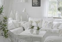 White decoration