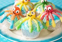 Food Fun for Littles / Sweets and snacks for small children to help make.