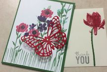 SU new stamp sets and crafts / Sale-a-bration and 2015 Occasions catalogue