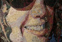 tváře patchwork