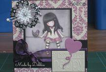 Cards by Debbie / De kaartjes die ik heb gemaakt....zowel old school als met de big shot!!