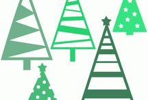 szablony Boże Narodzenie
