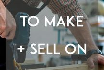 Sell on Etsy like a Pro / Struggling with getting sales on Etsy with your store? I've been collecting tips and advice for a while to help small Etsy businesses like me grow.