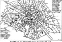 Paris Maps 19th Century