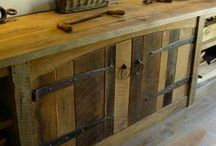 Wood is useful for more than just floors!