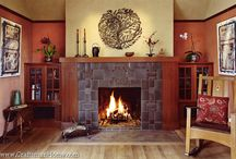 fireplace ideas / by Katie Demick