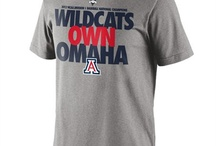 Arizona Wildcats College World Series T-Shirts and Hats / by Sports Style