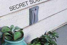 Nifty places to hide a spare key