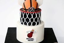 Basketball birtday cake