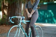 Bicycle Babes / Lovely ladies on two wheels.