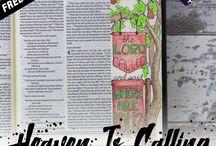 Bible Journaling Printables / Bible journaling printables!