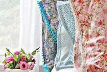 Floral Arranging / Cheerful, vintage, bohemian. Elegant too. Floral prints and furnishings make spaces happy.