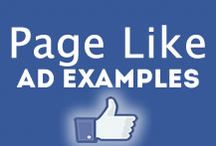 Facebook Page Like Ad Examples