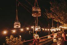 Lights / Luces. Iluminación boda