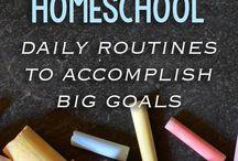 School- Kindergarten / For home school ideas specific to kindergarten