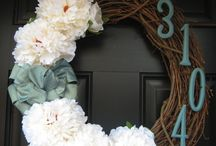 door decor / by Erin Reese