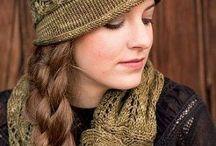 Druty - czapki i szaliki