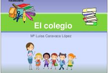 vocabulario colegio