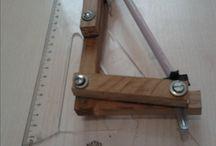 Absorbing and Impact Silencer Saw (Handmade) / Handmade, silencer and impact absorbing saw.
