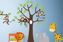 Boy's Wall Stickers / Wall Stickers perfect for any little boys bedroom