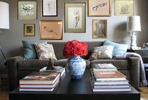 gallery wall / by Diane Rane Jones