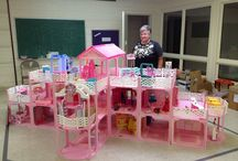 duży dom Barbie