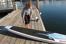 How to get your board in the water / Step by step instructions of how to properly handle your SUP board.