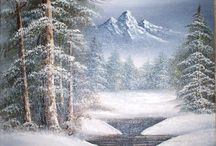 winter landscapes paintings