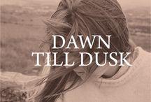 dawn till dusk / Left on Houston's Fall 1 Inspiration / by Left on Houston