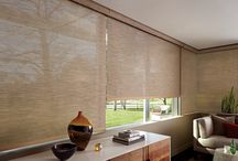 Designer Screen Shades / For excellent UV protection while maintaining your view of the outdoors, Designer Screen Shades are available in sturdy and easy-to-clean fabrics—a perfect roller screen shade for your patio or sunroom.