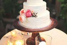Inspirace - svatební dorty