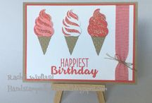 Ice cream stamp and punch